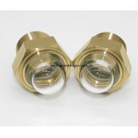 China male Metric thread M27x1.5 industrial equipment dome oil level glass sights with borosilicate glass OEM and ODM service on sale
