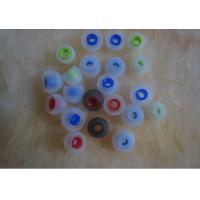 China Single Layer Rubber Silicone Earphone Cover For Mobil Phone / MP3 Earplug on sale