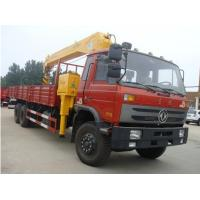 factory direct sale dongfeng 6*4 1tons dump truck with crane, Dongfeng Cummins 210hp XCMG 8-12tons truck mounted crane Manufactures