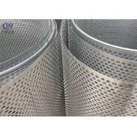 Stainless Steel Round Hole Perforated Metal Sheet Punching Mesh Manufactures
