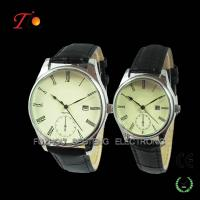 Alloy Case,Stainless Steel Backcase Wrist Watch With Date For Lovers Manufactures