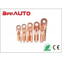 China DT Electrical Uninsulated Copper Terminal Lugs For Railway , Transportation on sale