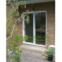 Eco-friendly UPVC Sliding Door & Window For Balcony / Patio, White Color and clear glass Manufactures