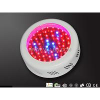 Energy Saving 50W 1800 Lm AC85 - 264V Red Blue LED Hydroponic Plant Grow Light Φ175* 60mm Manufactures