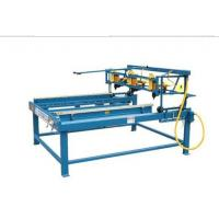 China Semi-Automatic Block  Wooden Pallet Nailing Line on sale