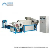 Mini Industrial Plastic Granulator Double Stage For Wet Dry Material Recycling Manufactures