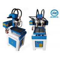 Table Moving Small CNC Router Machine Mini CNC Router 0303 Double Spindles Manufactures