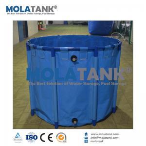 Molatank Economic Collapsible PVC Aquarium Fish Farming Tank for Marine Saltwater or Fresh Water Manufactures