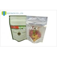 Stand Up Food Grade poly bags packaging , Small Plastic Zip Bags Manufactures