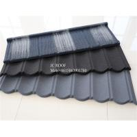 Colorful Stone Chip Coated Metal Roof Tiles / Galvalume Steel Roof Tile Sheets Manufactures