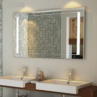 Luxurious hotel bath mirror with heating pads and lock TV and radio Manufactures