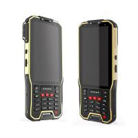 4G LTE PDA Handheld Device Android Portable Barcode Scanner with Dual Sim Card Manufactures