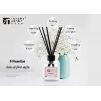 Tabletop Ornament Essential Oil Reed Diffuser Gift Set 120ml With Rattan Sticks Manufactures