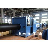 Quality Hollow Wall HDPE Pipe Extrusion Machine / Hdpe Pipe Extrusion Line for sale