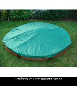 China PE tarpaulin for sandbox cover use,customized tarpaulin cover on sale