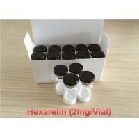 HPLC Hexarelin Muscle Building Peptides Most Effective 98 Percent Purity Manufactures