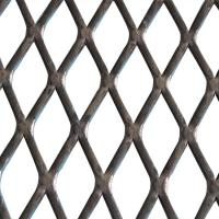 XS-83 Fluorocarbon Expanded Wire Mesh Carbon Steel Material For Prison Fence Manufactures