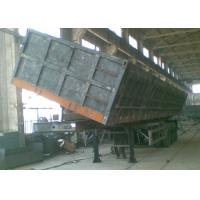 50t china famous heavy duty semi dump trailers for sand transportation Manufactures