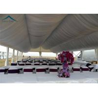 Arabic Large Wedding Tents  For Outdoor Party  Roof Linings And Curtains Manufactures