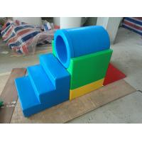 Customized Foam Climbing Blocks For Toddlers , Soft Play Area Equipment Cute Design Manufactures