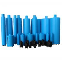 Blue Color Diamond Core Drill Bit For Drilling Reinforced Concrete Stone Marble Manufactures