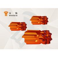 Tungsten Carbides Top Hammer Drilling Tools Low Air Consumption Long Life Span Manufactures