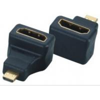 China 90 angle Micro D HDMI Male to HDMI Female Adapter Convertor on sale