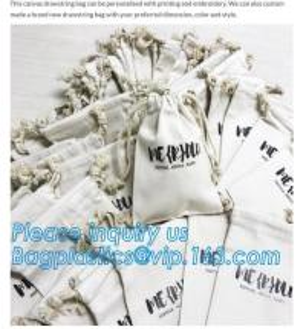 custom design fashion eco-friendly organic cotton canvas drawstring bag,High Quality Customized Cotton Muslin Drawstring Manufactures