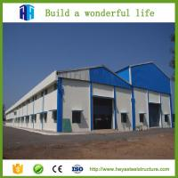 China Pre-built steel structure construction plant cheap steel warehouse on sale