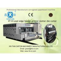 Vacuum Adsorption Rotary Die Cutting Machine With Steel Anilox Roller Manufactures