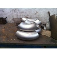 304 Duplex Stainless Steel Pipe Fittings 45 Degree Elbow For Pipeline ISO9001 Manufactures