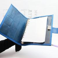 Handmade womens leather planner Ring Binder/Book Cover Manufactures