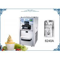 Commercial Soft Serve Ice Cream And Yogurt Maker With Air Pump Twin Twist Flavor Manufactures