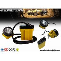 25000 Lux IP68 Cree mining Headlamp SOS warning with 2A Single Cradle Charger Manufactures
