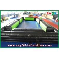 China Inflatable Snooker Football Field Inflatable Billiard Ball For Foot Snook Game on sale