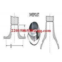 Forged Steel Pipe Fitting Saddle Pad Carbon Steel ASTM A105 Sweeploet Manufactures