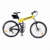 Folding Electric Mountain Bike with 250W/350W/500W Motor, 36V 8Ah/9Ah/10Ah, 38kph Max Speed Manufactures