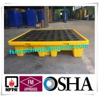 Buy cheap Oil Tank Storage HDPE Spill Containment Pallets, Spill Pallet for 220L Oil Drum from wholesalers