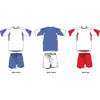 China cheap plain soccer football jersey on sale