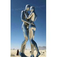 316L Stainless Steel Modern Outdoor Sculpture Outdoor Wrought Love Statue Manufactures