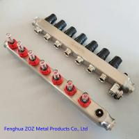 China Manifold for water circulation floor heating system,Water Manifold Radiant Floor Heating System on sale