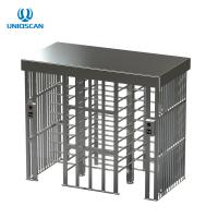 Square Full Height Pedestrian Security Gate Access Control For Airport / School Manufactures