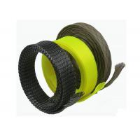 Buy cheap RoHS Abrasion Resistant Electrical Braided Sleeving For Wire / Cable Management from wholesalers