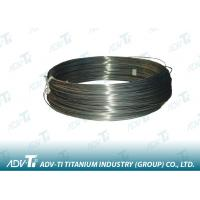 Nickel Memory Titanium Alloy Wire Black Dia 0.1mm - 10mm ASTM-2063 Manufactures