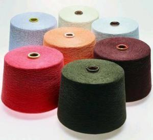 China 100% Cotton Melange Yarn on sale