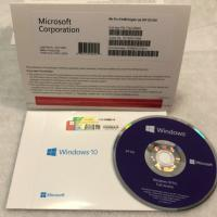 X32/64 Windows 10 Professional License Key Code DVD/CD Flash Drive Full Languages Manufactures