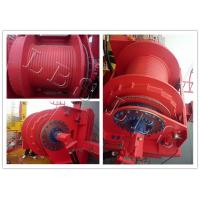 China Offshoe Marine Boat Hydrauliclebus Groove Winch For Oil Exploration on sale