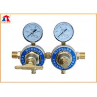 Adjusted High Pressure Oxygen 2 Stage Gas Regulator For Cutting Machine Manufactures