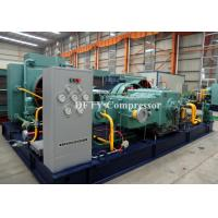 CNG gas compressor for CNG refueling station