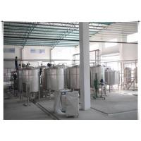 China UHT Milk / Pasteurized Milk Processing Line With ISO CE Certificate , 1-20 T/H on sale